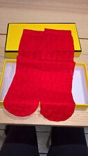 red Fendi short tights / socks