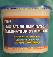 All Moisture Eliminator Absorber BlueTrim Self Contain Unit :Traps Odors.