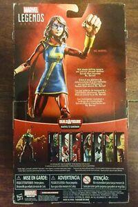 """Marvel Legends 6"""" MS MARVEL action figure (Sandman BAF)"""