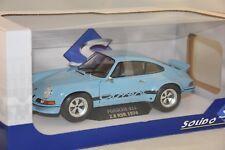SOLIDO S1801101 - Porsche 911 RSR 2.8 1974 Bleu gulf 1/18