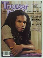 Eddy Grant Trouser Press Magazine New Order Marshall Crenshaw November 1983 RARE