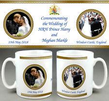 Prince Harry Meghan Markle ROYAL WEDDING Kiss Commemorative Mug #8 Cup Tribute