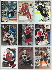 Eric Lindros Misc. 18 Card Lot