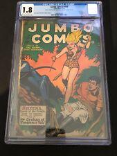 Jumbo Comics #108 1948- SHEENA cover- Matt Baker. Cgc 1.8
