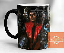 MICHAEL JACKSON THRILLER GHOST MAGIC COLOR CHANGING COFFEE MUG  HOME DECOR EDH