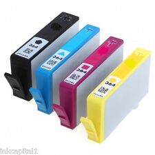 Set of 4 Ink Cartridges No 364XL Non-OEM Alternative With HP 7510