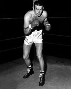 1957 Boxing Heavyweight INGEMAR JOHANSSON Glossy 8x10 Photo Pose Print Portrait