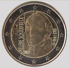Finland 2012 - 2 Euro Comm - Helene Schjerfbeck (UNC)
