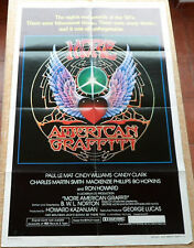 More American Graffiti movie poster, style A, folded, original, One Sheet, 1979