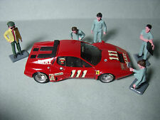 5  FIGURINES   SET  113   RAVITAILLEMENT  PIT  STOP   VROOM  1/43  A  PEINDRE