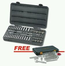 "GearWrench 57pc 3/8dr Socket / Ratchet Set w/FREE 51pc 1/4""dr Socket Set #80550F"