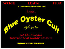 Custom Guitar Lessons, Learn Blue Oyster Cult! - DVD Video