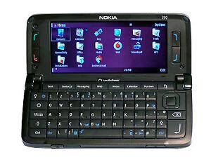 NOKIA E SERIES E90  Black Unlocked Quad Band Gps Symbian Smartphone
