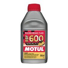 Motul 1/2L Brake Fluid RBF 600 - Racing DOT 4 1/2L Bottle (16.9 fl.oz.)