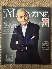 THE TIMES MAGAZINE JOHN HUMPHRYS COVER NEW