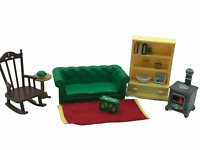 Calico Critters Sylvanian Families Cosy Living Room Flair Light Up Stove Epoch