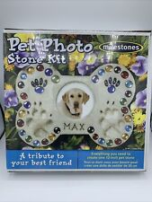 Milestones Mosaic Stepping Stone Kit Pet Photo 601950112968
