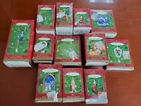 Hallmark Keepsake Ornament Lot of 12 NOS in Original Boxes from 2000 Collection