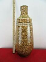 Campos Filhos Pottery Vase Jar Bottle Aveiro Portugal Primitive Stoneware