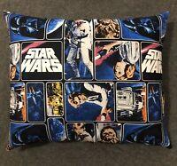 "Beautiful Handmade Star Wars Accent - Throw Pillow 14"" x 12"""