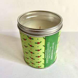 Crabtree Evelyn Winterberry Candle Bouquet de Houx Holly Christmas Discontinued