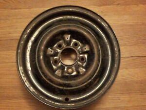 1950 1951 1952 GM Chevy Steel Wheel 15 X 5 Rim 5 Bolt 4.75 Pattern Hubcap Clips