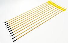 """10 frecce in legno da 78 cm 29"""" per arco 20 - 65 libbre"""