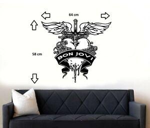 Bon Jovi Wall Art Sticker/Decal