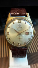 LINGS 21 PRIX CALENDER ANTI MAGNETIC VERY RARE VINTAGE WATCH NEW YEAR