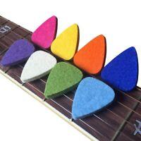 Ukulele Picks Felt Picks/Plectrums For Ukulele And Guitar,8 Pieces Guitar P Y6Z5
