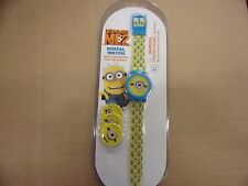 Despicable Me2 Digital Watch With 4 Changeable Minion Faces. Guaranteed delivery