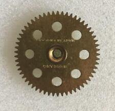 """Meccano - 27a Spur Gear - 57 Teeth 1 1/2"""" Dia 8 Hole - Original Used Marks 1st"""