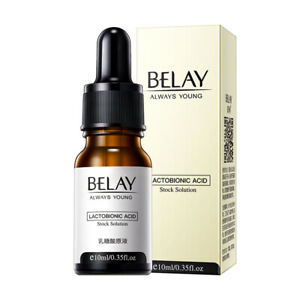10ml Belay Instant Perfection Serum Lactobionic Acid Face Solution Serum EN