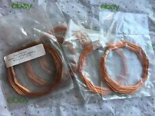 Qty 5, Delta Education 230-0759 copper wire loops, wire bare, #22,22', two pairs