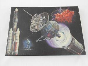 Helios Puzzle 500 Teile Sonnensonde 1974 Vintage Rarität 49x36 cm Ravensburger