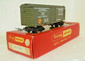 Triang Hornby OO Scale Battle Space 'Exploding' Dangerous Goods Boxcar