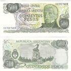 Argentina 500 Pesos 1982 P-303c UNC Uncirculated Banknote