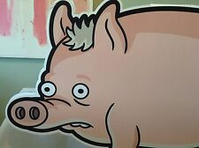 The Simpsons Movie Spider Pig Cardboard Cutout Large Promo DVD 2007 Groening