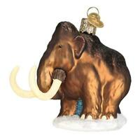 """Wooly Mammoth"" (12563)X Old World Christmas Glass Ornament w/ OWC Box"