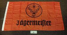 Large 3' x 5' New never opened Orange Jägermeister Flag - Banner - Backdrop