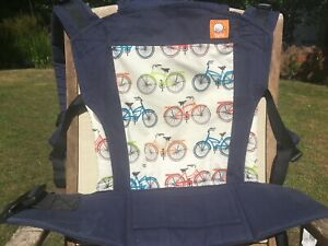 Tula Retro Bikes Standard - Full Buckles baby carrier Sling Front or Back carry