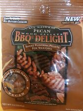 BBQR's Delight All Natural Pecan Wood Pellets 1.6 OZ one time use