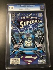 Adventures Of Superman #484 D. C. Comics, 11/19 Graded By CGC 9.8 NM/MT.