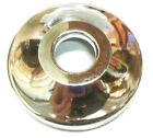 "Fire Sprinkler Plastic Escutcheon Chrome - 1/2' IPS - 3"" wide x 5/8"" deep"