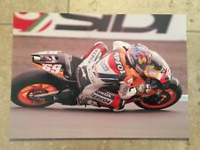 Nicky HAYDEN MOTOGP REPSOL HONDA TEAM 12x8 fotografía