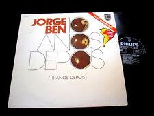 JORGE BEN/10 ANOS DEPOIS/BRAZIL GROOVY SAMBA/FRENCH PRESS