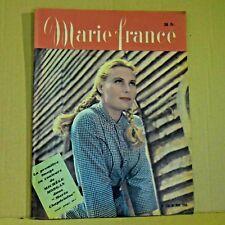 Marie France Magazine N° 270 - 30 Janvier 1950 - Ancien Magazine Français