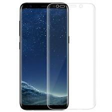 2x PET Folie Samsung Galaxy S8 Schutzfolie Curved Gebogen Display Panzerfolie