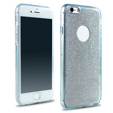 Shockproof Silicone Protective Clear Case Cover For Apple iPhone 5S SE 6 6s Plus