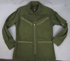 Vintage Avirex Type K-4 Summer Flying Jacket Olive Green Flight Coat Sm USA